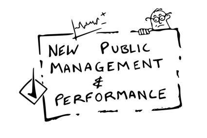 administration and new public management The term new public management encompasses a wide range of techniques and perspectives that are intended to overcome the inefficiencies inherent in the traditional model of public administration.